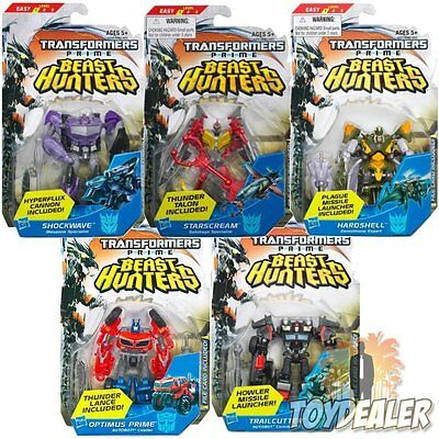 Transformers Prime Beast Hunters Commander Class Level 1 Action Figur Hasbro