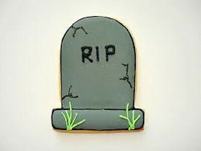 1 Halloween Party Tombstone Cookie Cutter