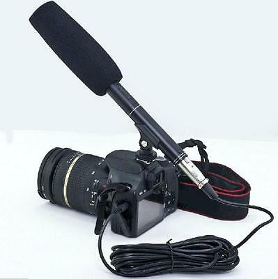 New Professional Shotgun Microphone Camera Camcorder Mic for Canon Nikon Sony