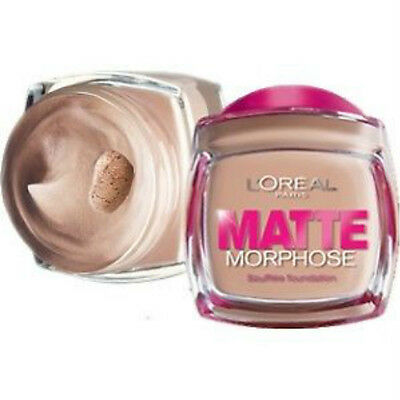 L'Oreal Matt Morphose Foundation - 6 Shades available.