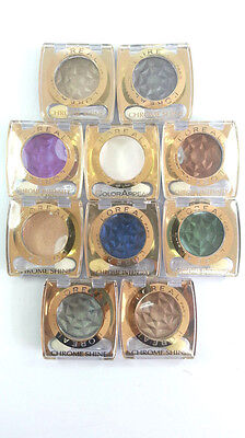 L'Oreal Eye Shadow Color Appeal Chrome Shine Eye Powder [17 Shades Available]