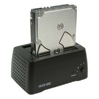 "SATA HDD Docking Station - Copy Clone Hard Drive without a PC 2.5"" 3.5"" Sata II"