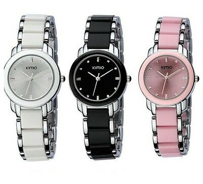 Kimio Lady originale orologio DONNA bracciale ceramica - watch- crystal jewelry