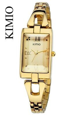 oro Kimio Lady originale orologio DONNA bracciale watch-crystal jewelry K23L