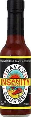 Dave's Gourmet Insanity Hot Sauce 5oz Bottle