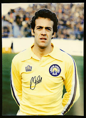 New Alan Curtis Signed Leeds United 12x16 Photograph