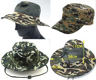 987d628a2a3 BOONIE BUSH CAPPELLO SOFTAIR JUNGLE military Caccia Pesca Anti Zanzare 11  modell