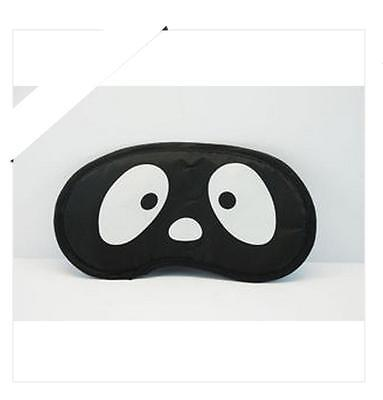 Precioso ANTIFAZ PARA DORMIR Máscara  PERRITO NEGRO Sleeping eye mask A1553