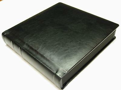 Professional 10x10 black Wedding Photo Album With 50 Mats  (Engraving Available)