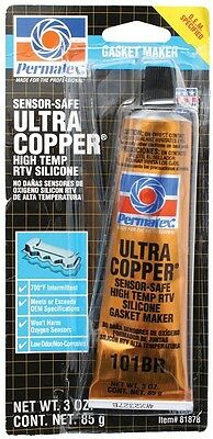Permatex Ultra Copper RTV Silicone Gasket Maker Exhaust Sealant Gasket Silicon