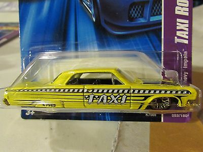 Hot Wheels Taxi Rods 1964 Chevy Impala
