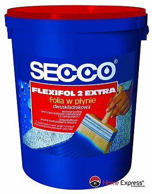 Waterproofing & crack-isolation (2-component liquid foil) SECCO - 10 or 20 kg