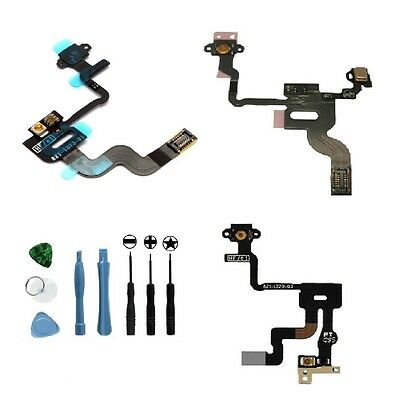 Power Button Proximity Light Sensor Induction Flex cable for iPhone 4 4S GSM CDM