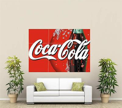 Coca-Cola Giant XL Section Wall Art Poster L120