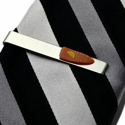 Salmon Tie Clip - Tie Bar - Tie Clasp - Business Gift - Handmade - Gift Box