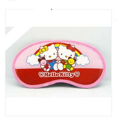 Precioso ANTIFAZ PARA DORMIR Máscara HELLO KITTY  Sleeping eye mask  A1609