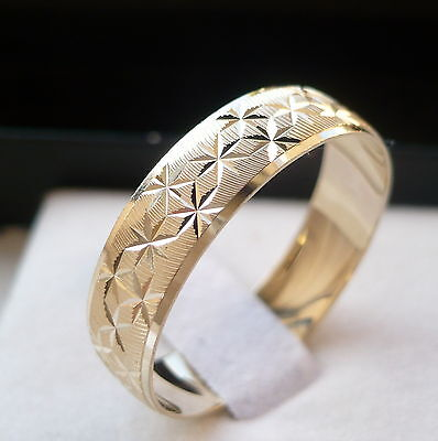 New Arrival! 10K Solid Gold Men's/ Women's Wedding Band Ring 6-14 Free Engraving