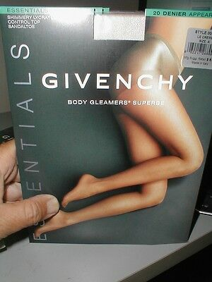 3 Givenchy Body 536 B Gleamers Superbe Pantyhose Stocking -  Crystal