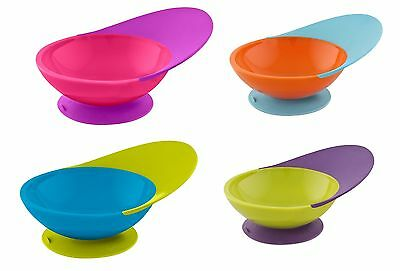 Boon Catch Bowl with Suction Cap Bottom Feeding for Baby Toddler Kid - 3 Options