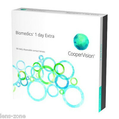 BIOMEDICS 1-Day Extra 1BOX=1 STAERKE Tageslinsen TOP PREIS, CooperVision