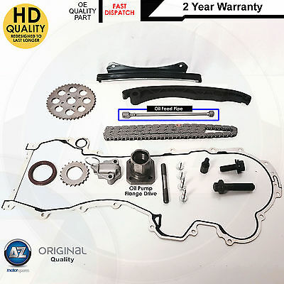 FOR ASTRA H MK5 1.3 CDTi DIESEL TIMING CHAIN KIT SPROCKETS GEARS TENSIONER