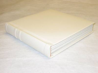 10x10 ivory Self Mount Wedding Photo Album - 20 Pages (Engraving Available)