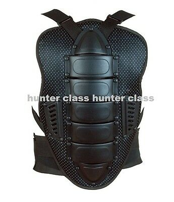 Motorcycle Motorbike Motocross Back Protector Body Armour Back  Spine Protector