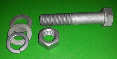 M16 x 80mm Tow Bar Trailer Ball Hitch Bolt Land Rover Defender SUV Ford VW Van