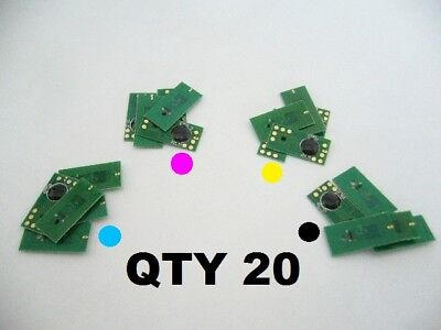 Chips For Primera Lx900 Rx900 Printer Cartridge Qty X 20 Chips Genuine Ocp Ink