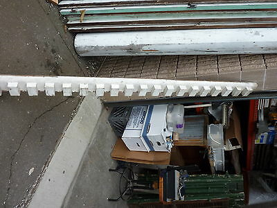 45 linear feet circa 1830 DENTIL molding boards ~ 5 lengths 11', 10', 8'(2) & 7'
