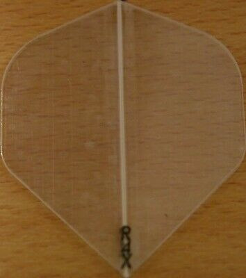 """5 Sets (5X3) """"Clear"""" Transparent R4X Extra Strong Ruthless Dart Flights"""