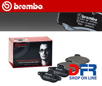 P23021 BREMBO Kit 4 pastiglie pattini freno FIAT PANDA (141A_) 1100 4x4