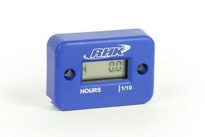 RHK Mx Hour Meter Blue Motocross Dirt Bike Parts Motorbike Jetski