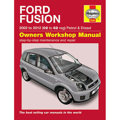 Ford Fusion 1.4 1.6 Petrol 1.4 1.6 Diesel 02-11 Haynes Workshop Manual