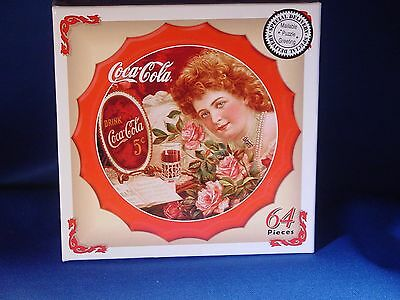 "Coca-Cola 64 Piece Mini-Jigsaw Puzzle 1900 ""Drink Coca-Cola"""