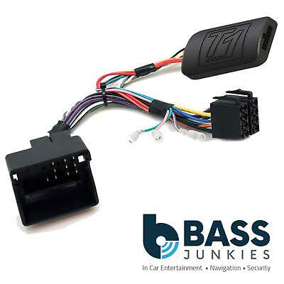 T1-PG7 Peugeot 307 Car Stereo Radio Steering Wheel Control Interface PATCH LEAD