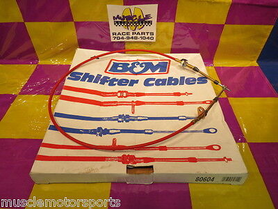 New B&M shifter cable 4ft for automatic shifters p/n 80604