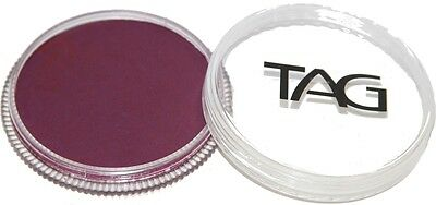 TAG Body Art 32g Regular Berry Wine Professional Face and Body Paint - Make up