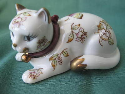 Franklin Mint Curio Cats Collection - Satsuma Cat