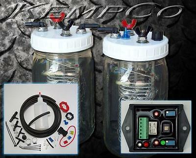 HHO Hydrogen Generator 2 Cell Complete Kit & Dual Narrowband EFIE Electronic ECU