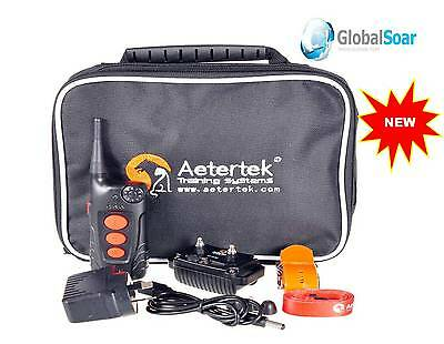 Aetertek At-918C Extra Strong Remote Dog Training Shock Collar + Vibrate + Sound