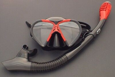 NEW WILCOMP Snorkelling/Diving Liquid Silicone Set WIL-DS-19 with Dry Snorkel