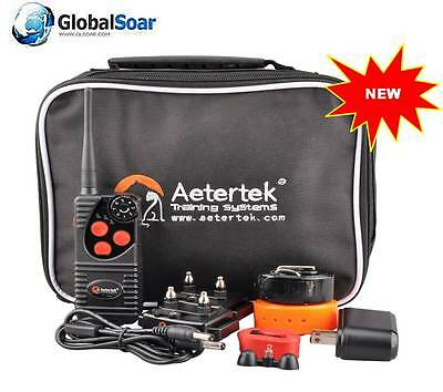 Aetertek 216D-550 2 Dog Remote Training Shock&Waterproof Collar Rechargeable