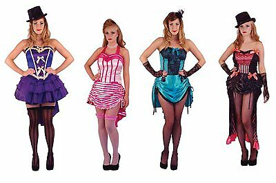 Ladies Sexy Burlesque Costume Womens Hen Night Outfit Fancy Dress Moulin Rouge