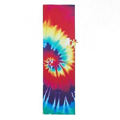"Grizzly Grip Tape 9x33"" Tie Dye Full Skateboard Deck Griptape Scooter By Diamond"