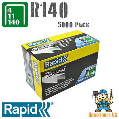Rapid R34  / 140 Series Staples (Flatwire / Proline)  10-12mm 5000 Pack