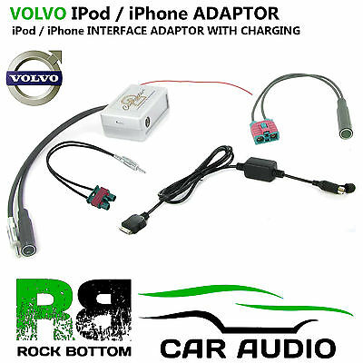 VOLVO XC90 2004> iConnect FM Modulator iPod iTouch iPhone Interface Adaptor