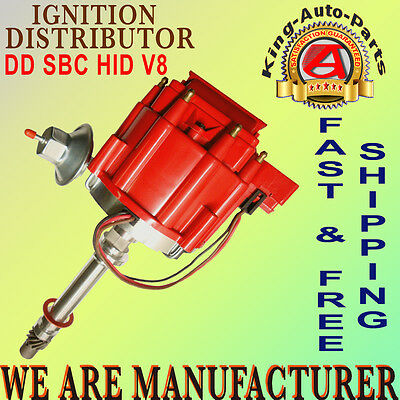 Compatible with DDSBCHEIV8 Street Fire Chevrolet Chevy HEI Ignition Distributor