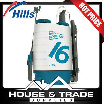 Hills 16L Industrial Sprayer w/ Viton® Seals Knapsack Pressure Spraying
