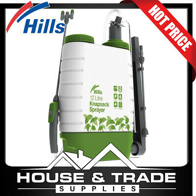 Hills 12L Knapsack Sprayer Garden Pressure Spraying